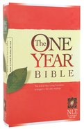 NLT One Year Bible (Black Letter Edition)
