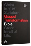 ESV Gospel Transformation Bible Black Hardback