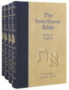 Interlinear Bible Hebrew/Greek/English (4 Vol Set)