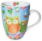 Ceramic Mug With Scripture: Owls Homeware