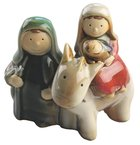 Childrens Holy Family With Donkey Homeware
