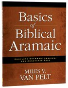 Basics of Biblical Aramaic Paperback