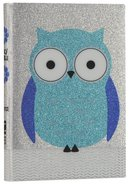 NIV Glitter Bible Blue Owl (Red Letter Edition) Imitation Leather