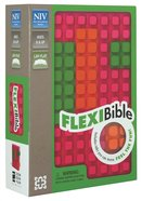 NIV Flexi Bible Pink (Red Letter Edition) Flexi Back