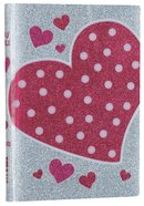 NIV Glitter Bible Pink Heart (Red Letter Edition) Imitation Leather