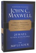 Maxwell 2-In-1: 25 Ways to Win With People + 360 Degree Leader Paperback