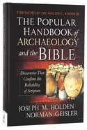 The Popular Handbook of Archaeology and the Bible Hardback
