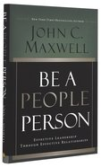 Be a People Person Hardback