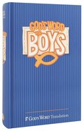 God's Word For Boys Blue Hardback
