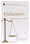 Jsbs Galatians (John Stott Bible Studies Series) Paperback