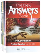 New Answers Book Box Set, the 4-Pack (4 Vols)