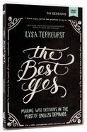 The Best Yes (Dvd Study)