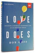Love Does: A DVD Study Dvd-rom