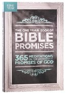 The One Year Book of Bible Promises Paperback