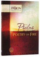 TPT Psalms: Poetry on Fire (Black Letter Edition)