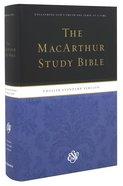 ESV Macarthur Study Personal Size (Black Letter Edition) Hardback