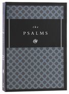 ESV Psalms Brown/Walnut Timeless Design (Black Letter Edition) Hardback