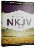 NKJV Holman Study Bible (Full Colour) Hardback