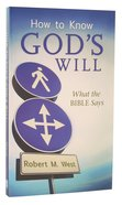 How to Know God's Will Mass Market