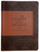 My Utmost For His Highest Devotional Journal Flexi Back