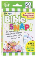 Flash Cards: Bible Snap (Age 5+) (Pk 50) Pack