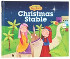 Candle Tiny Tots: Christmas Stable Hardback