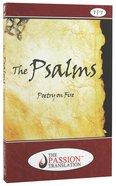 TPT Psalms: Poetry on Fire Paperback