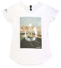 T-Shirt: #Wearen Mali Tee Womens Large White