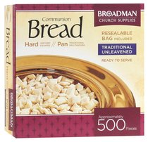 Communion Bread Unleavened 500 Pieces