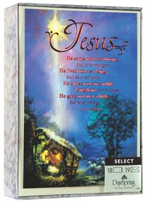 Christmas Boxed Cards: Jesus - He Came Not to a Throne (Ephesians 5:2 Niv)