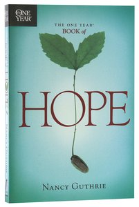 The One Year Book of Hope (One Year Series)