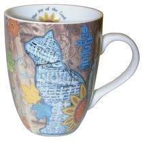 Ceramic Mug With Scripture: Cat