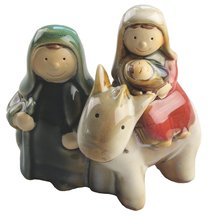 Childrens Holy Family With Donkey