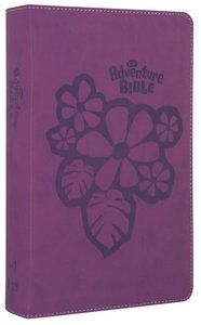 NIRV Adventure Bible For Early Readers Tropical Purple