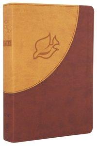 NIV New Spirit-Filled Life Bible Brown Dove