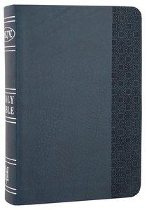 NKJV Large Print Compact Reference Bible Slate Blue
