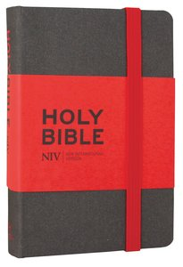 NIV Grey Pocket Notebook Bible
