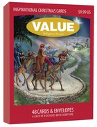 Christmas Value Boxed Cards C: Religious Scenes With Scripture