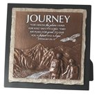 Moments of Faith Stone Sculpture Plaque: Journey, Jeremiah 29:11