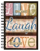 Spiral Journal: Live Laugh Love Spiral
