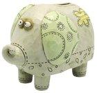 Noah's Ark Coin Bank: Elephant