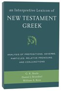 An Interpretive Lexicon of New Testament Greek Paperback