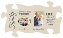 Puzzle Pieces Wall Art: Moments to Love (Holds 2 4x6 Photo)