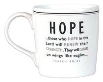 Black and White Series Mug: Hope