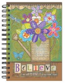 Spiral Journal: Musical Flowers Believe