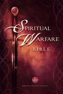 The MEV Spiritual Warfare Bible Hardback