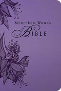 MEV Spiritled Woman Bible Lavender Premium Imitation Leather