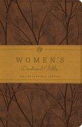ESV Women's Devotional Bible Trutone Brown Birch Design (Black Letter Edition) Imitation Leather
