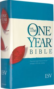 The ESV One Year Bible (Black Letter Edition)