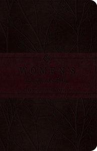 ESV Womens Devotional Bible Trutone Burgundy Birch Design (Black Letter Edition)